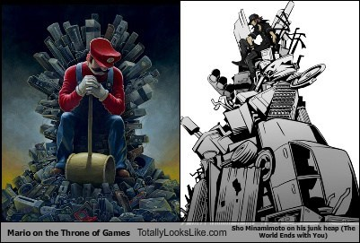 mario on the throne of games totally looks like sho minamimoto on