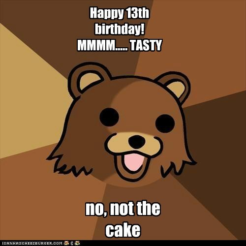 Happy 13th Birthday MMMM TASTY