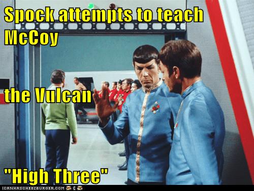 McCoy Spock Vulcan Leonard Nimoy Star Trek deforest kelly - 6710145792