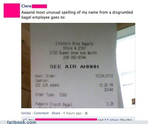 spelling names ciera failbook g rated - 6710901760