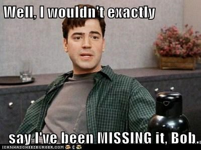 Funny Meme About Missing Someone : Well i wouldn t exactly say i ve been missing it bob