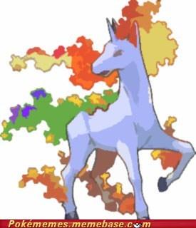 Pokémon rapidash rainbow dash - 6711725824