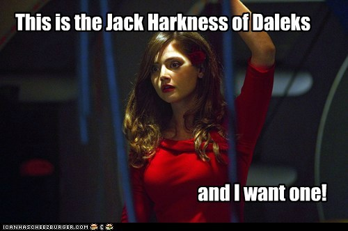 oswin oswald want Captain Jack Harkness jenna-louise coleman daleks doctor who - 6711794944