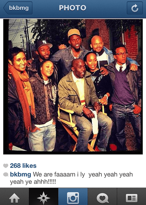 The Wire,Omar Little,marlo stanfield,cast reunion