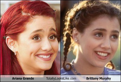 brittany murphy,actor,TLL,Ariana Grande,funny