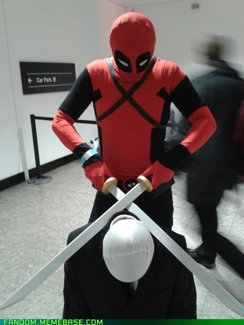 cosplay,deadpool,slenderman