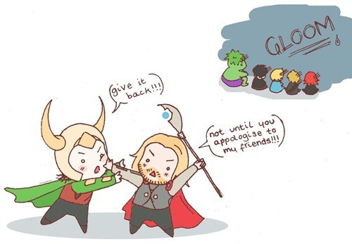 loki,Thor,avengers