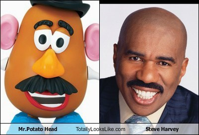 toy,actor,TLL,celeb,steve harvey,mr potato head,funny