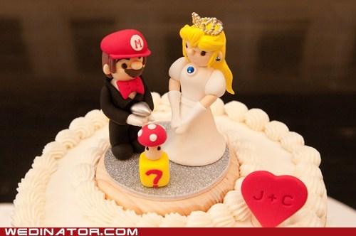 cake princess peach mushroom fondant mario nintendo - 6713967616