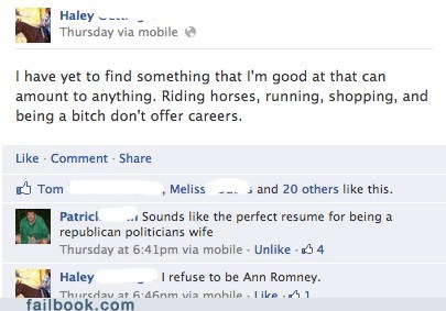 Ann Romney Mitt Romney career options