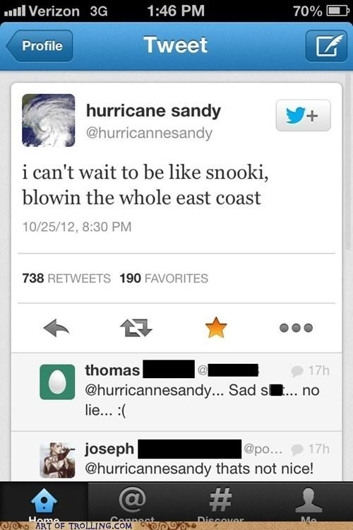 twitter snooki hurricane sandy - 6714872064