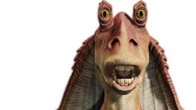 scifi star wars list jar jar binks theory