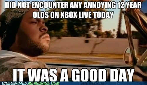 ice cube,xbox live,online gaming,it was a good day