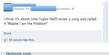 taylor swift,Music,we are never ever getting back together,Music FAILS