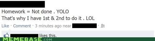 homework yolo murica facebook failing - 6715361024