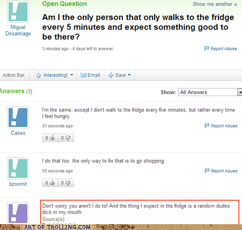 yahoo answers refrigerator food - 6715361536
