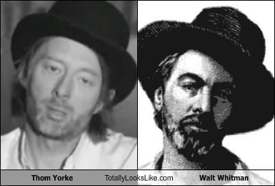 walt whitman,Music,Thom Yorke,TLL,celeb,funny