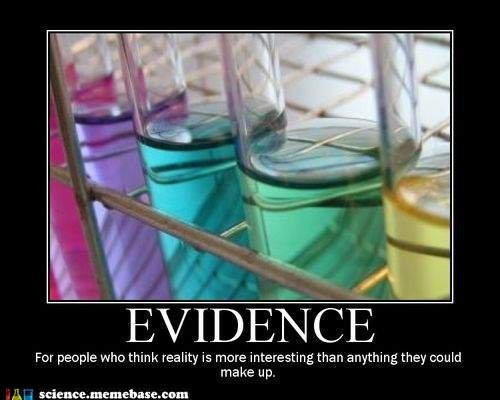evidence people anything
