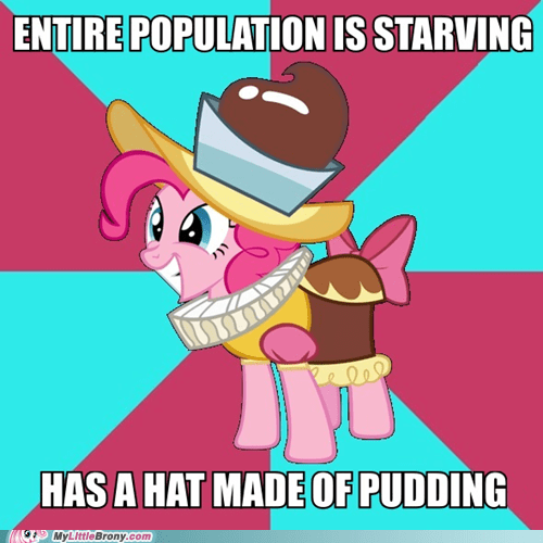 im-hungry,pinkie pie,pudding,seems legit