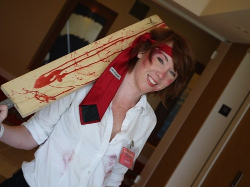 cosplay Shaun Of the dead rule 63 - 6716217600