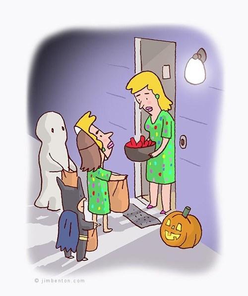 halloween trick or treat costume - 6716556288