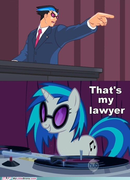 Pheonix Wright,vinyl scratch,hold it,objection