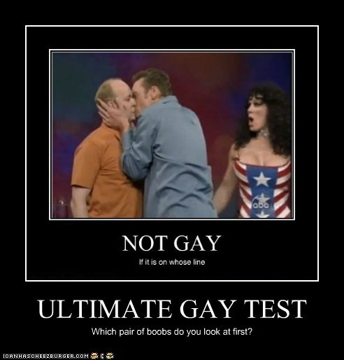 the ultimate gay test