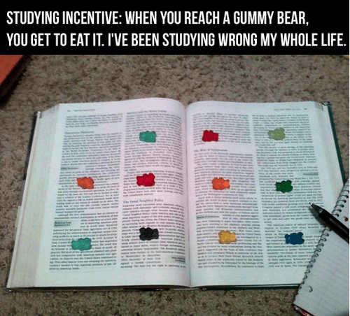 textbooks gummy bears reading incentive Hall of Fame best of week - 6716701184