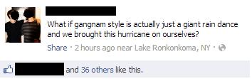facebook gangnam style hurricane sandy - 6716751872