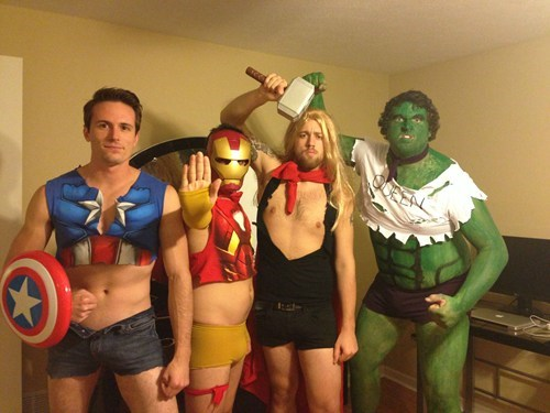 halloween costumes The Avengers - 6716807936