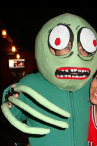 halloween costumes Salad Fingers - 6716851200