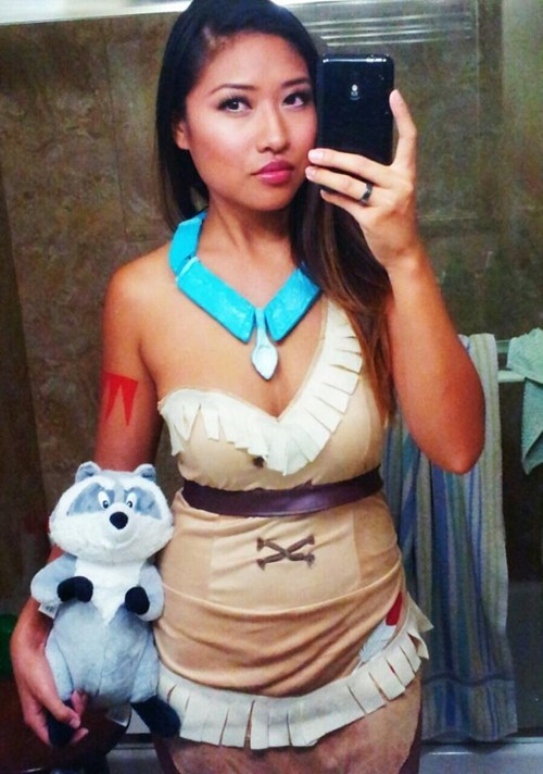 cosplay,pocahontas