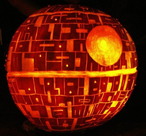 scifi,star wars,halloween,jack o lanterns,pumpkins,ghoulish geeks,g rated