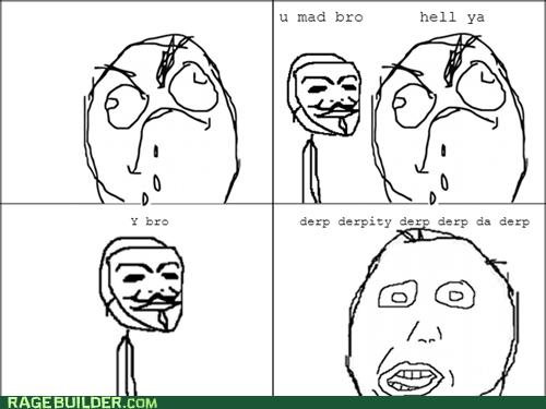 I hate derps
