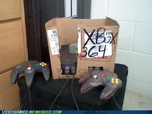 IRL do it yourself nintendo 64 xbox seems legit - 6717158656