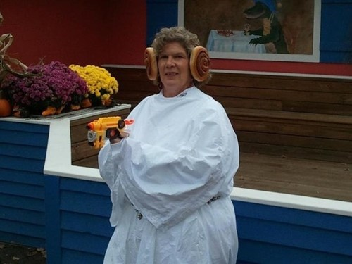 halloween costumes star wars buns Princess Leia - 6717398784
