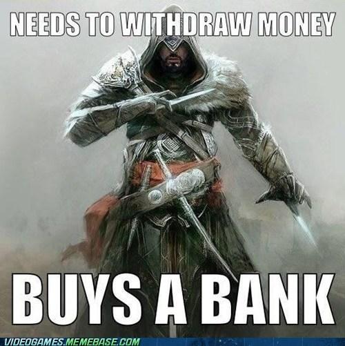 bank assassins creed video game logic - 6717455360