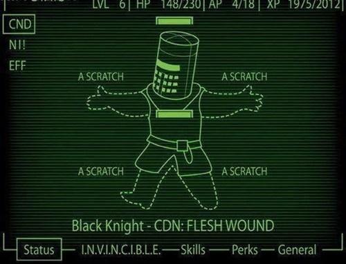 scratch fallout flesh wound - 6717464064