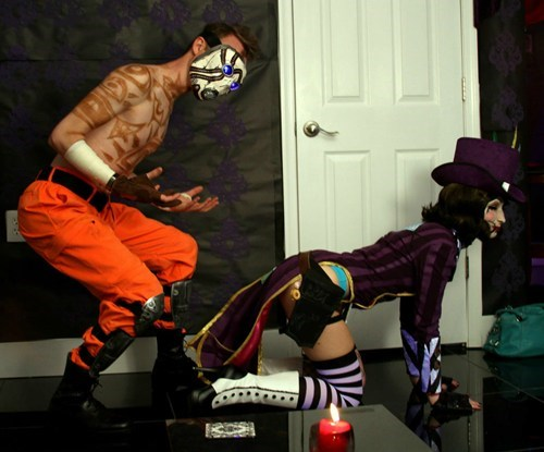 psycho cosplay moxxi borderlands 2 - 6717469696