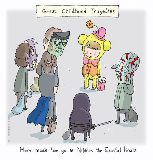 halloween costumes childhood tragedy comic - 6717695488