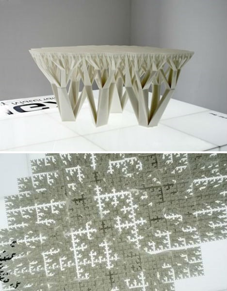 table,design,fractal,artsy