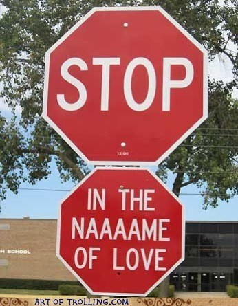 sign Music IRL lyrics stop sign stop in the name of love - 6717956864
