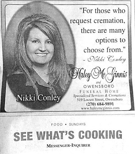 Ad advertisement newspaper juxtaposition - 6717964544