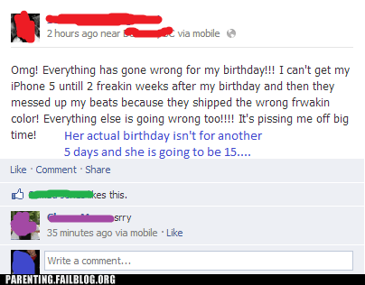facebook,spoiled