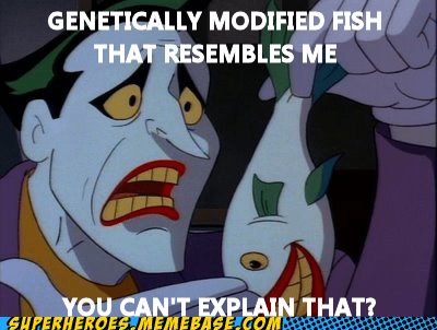 Sad,joker,fish