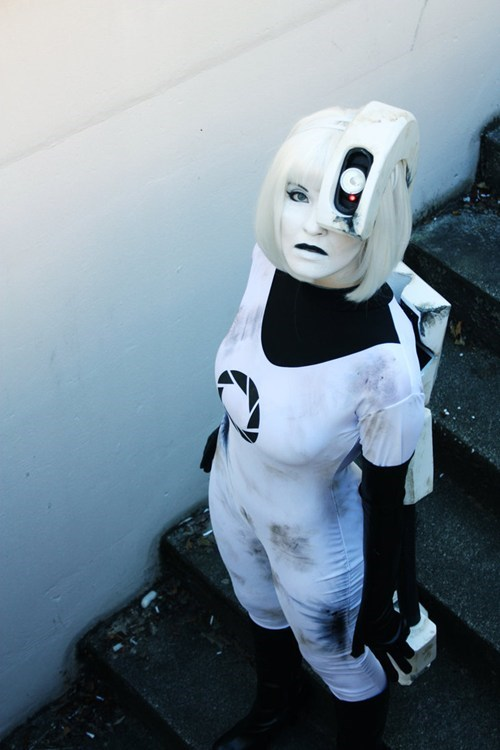 cosplay,Portal,video games,gladOS