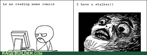 stalker raisin face Rage Comics