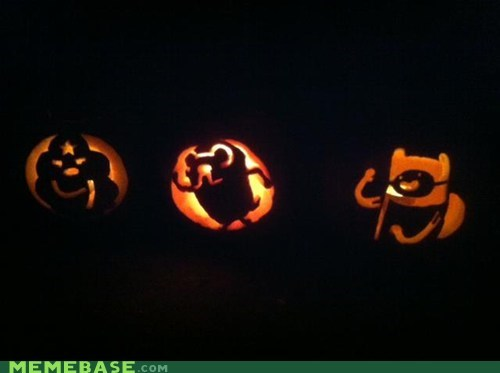 jack o lanterns pumpkins adventure time - 6718182912