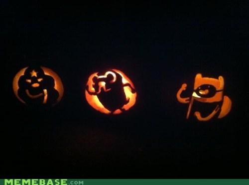 jack o lanterns pumpkins adventure time - 6718182912