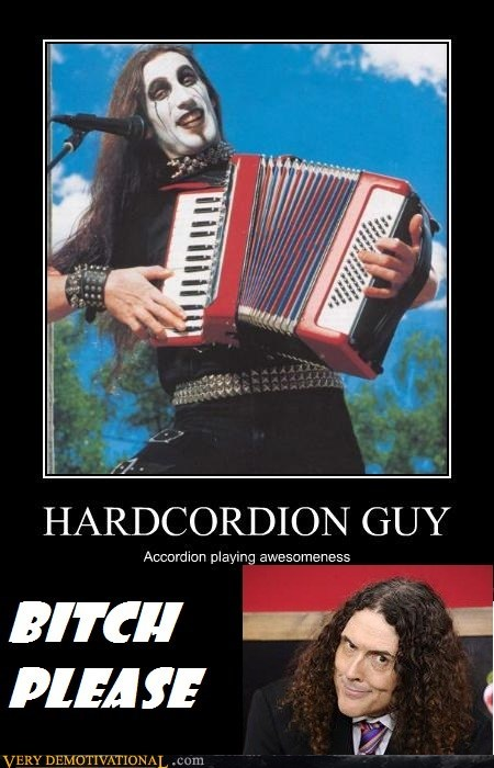 Weird Al Yankovic is Hardcordion